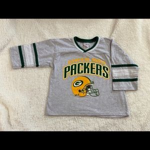 Other - Vintage Style Green Bay Packers Kids Shirt